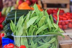 Fagiolini di verdure Fotografia Stock Libera da Diritti