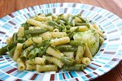 Fagiolini do patate do engodo do Pesto Imagens de Stock Royalty Free