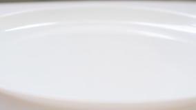 Fagiolini e verdura affettati della carota stock footage