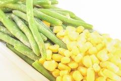 Fagiolino e cereale fotografia stock libera da diritti