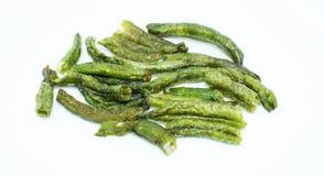 Fagiolo comune secco su fondo - alimento sano di ortaggio da frutto immagini stock
