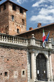Fagnano Olona Ιταλία, το κάστρο Στοκ εικόνα με δικαίωμα ελεύθερης χρήσης