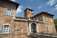 Fagnano Olona (Italien), slotten arkivfoto