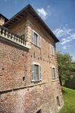 Fagnano Olona & x28; Italy& x29; , slotten royaltyfri foto