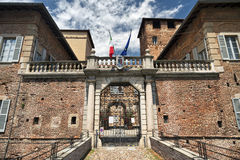 Fagnano Olona & x28; Italy& x29; , het kasteel Royalty-vrije Stock Foto's