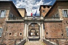 Fagnano Olona & x28; Italy& x29; kasztel Zdjęcia Royalty Free