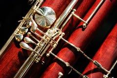 Fagottträblåsinstrumentinstrument Royaltyfri Bild