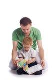 Faher com criança Imagem de Stock Royalty Free