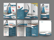 Fahion Store Business Stationery Royalty Free Stock Image
