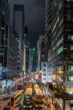 Fahler Bezirk Sheung von Hong Kong Stockfotografie