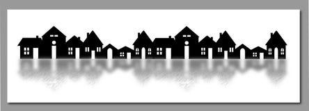 Das Dorf Stockfotografie