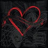 Fahne und Liebe Stock Abbildung