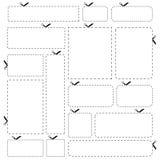 Fahnen des unbelegten Papiers getrennt auf weißem Hintergrund Lizenzfreie Stockfotografie