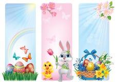 Fahnen für Ostern Stockbilder