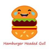 Fahnen-Gefühl-Hamburger Auch im corel abgehobenen Betrag vektor abbildung