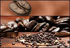 Fahnen - Kaffee Stockfotografie