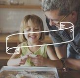 Fahnen-Werbemitteilung annoncieren Förderungs-Konzept stockfotografie