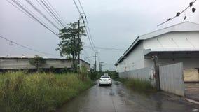 Fahren, Bangkok Thailand überschwemmend stock footage
