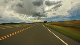 Fahren durch Montana stock footage