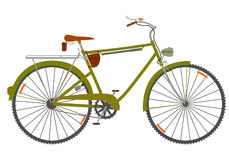 Reisen des Fahrrades. Stockfotografie