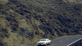 Fahren Sie durch Yosemite stock video footage