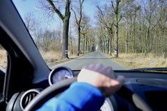 Fahren Sie ein Auto Lizenzfreies Stockfoto