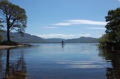 Fahren Sie Fahrt auf das Wasser, Killarney, Irland rad stockfoto