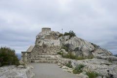 fahren Sie, Kap formentor auf der Insel von Majorca in Spanien die Küste entlang klippen Lizenzfreie Stockbilder