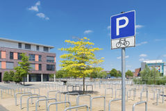 Fahren Sie Parken rad Lizenzfreie Stockbilder