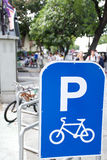 Fahren Sie Parken rad Lizenzfreies Stockbild