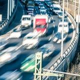 Fahren von Autos Lizenzfreie Stockfotos