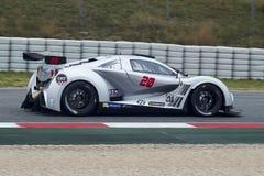 Fahrer Alexandre Coigny Ausdauer GT lizenzfreie stockbilder