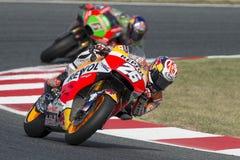 Fahrer Dani Pedrosa Honda Team Stockfoto