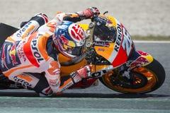Fahrer Dani Pedrosa REPSOL HONDA TEAM Monster-Energie Grandprix von Katalonien Stockfotos