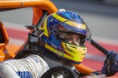 Fahrer Paddy MACCLUGHAN RADIKALE EUROPÄISCHE MEISTER Internationales GT OFFEN Lizenzfreie Stockfotos