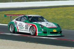 Fahrer Pierre Martinet Porsche 997 GT3 Lizenzfreies Stockbild