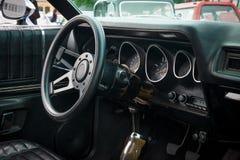 Fahrerhaus des mittelgroßen Auto Plymouth-Satelliten (dritte Generation) Stockbilder
