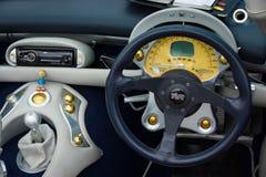 Fahrerhaus einer toskanischen Geschwindigkeit 6 Sportauto TVRs Stockfotos