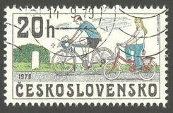 Fahrräder 1978 Stockfotografie
