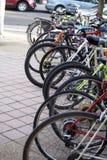 Fahrräder Stockbild