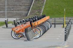 fahrräder Stockbilder