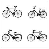 Fahrräder Stockfotografie