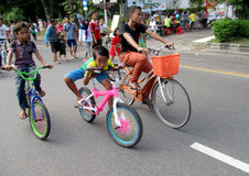 Fahrräder Stockfoto