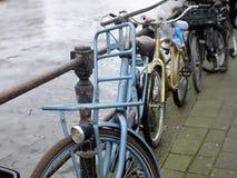 Fahrräder in Amsterdam Lizenzfreies Stockbild