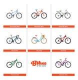 Fahrräder der Welt Lizenzfreies Stockbild