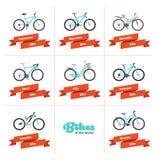 Fahrräder der Welt Lizenzfreies Stockfoto