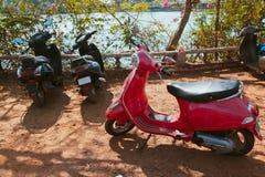 Fahrräder Miet Lizenzfreie Stockfotos