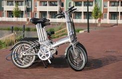 Fahrräder zum zu mieten stockbild