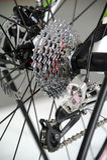 Fahrradübertragung Stockfoto
