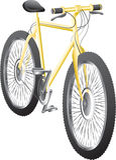 Fahrrad stock abbildung